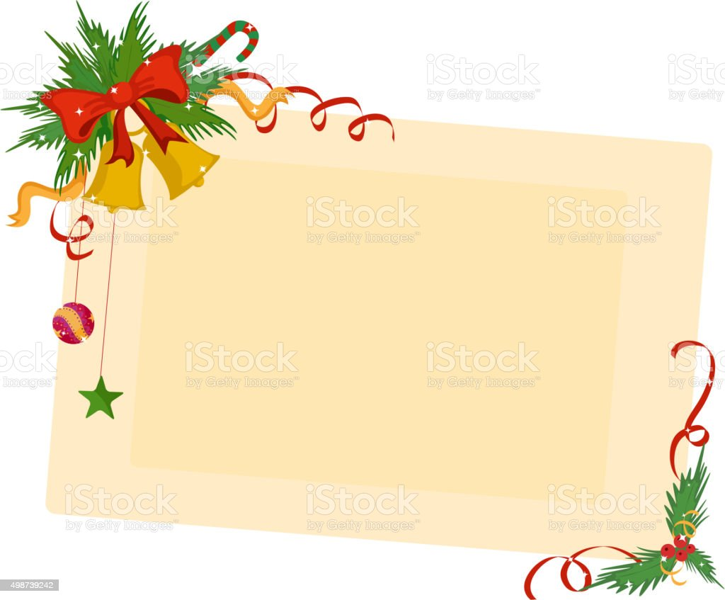 merry christmas border and decoration frame royalty free merry christmas border and decoration frame stock - Merry Christmas Border