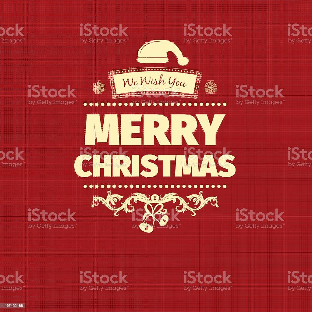 Frohe Weihnachtenkarte Und Neues Jahr Wünschen Begrüßung Stock ...