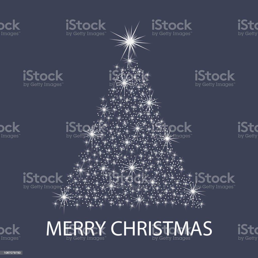 Merry Christmas Card Template – Vektorgrafik