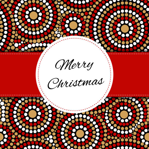 Merry Christmas card template vector Merry Christmas card template vector. Print with festive firework. Happy holiday background. Season design for shopping web banner, gift greeting tag, label or sticker. australian christmas stock illustrations