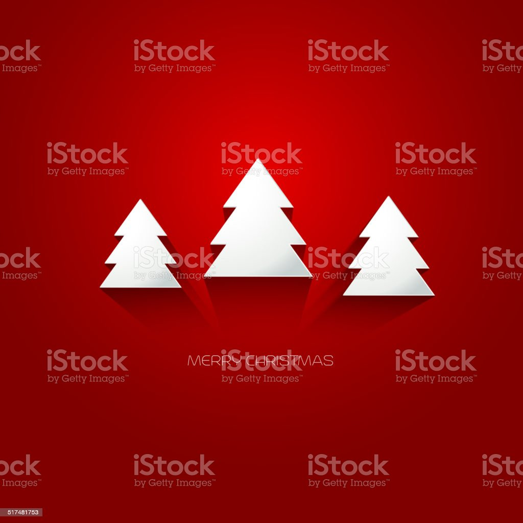 Merry Christmas Card Stock Vector Art More Images Of Abstract