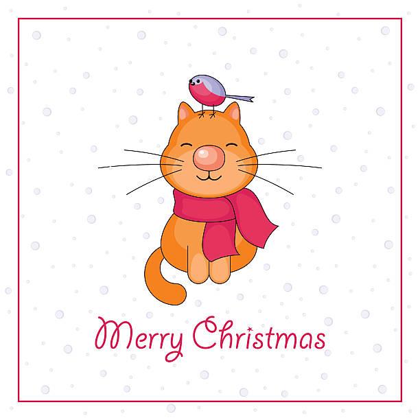 merry christmas card - dompfaff stock-grafiken, -clipart, -cartoons und -symbole