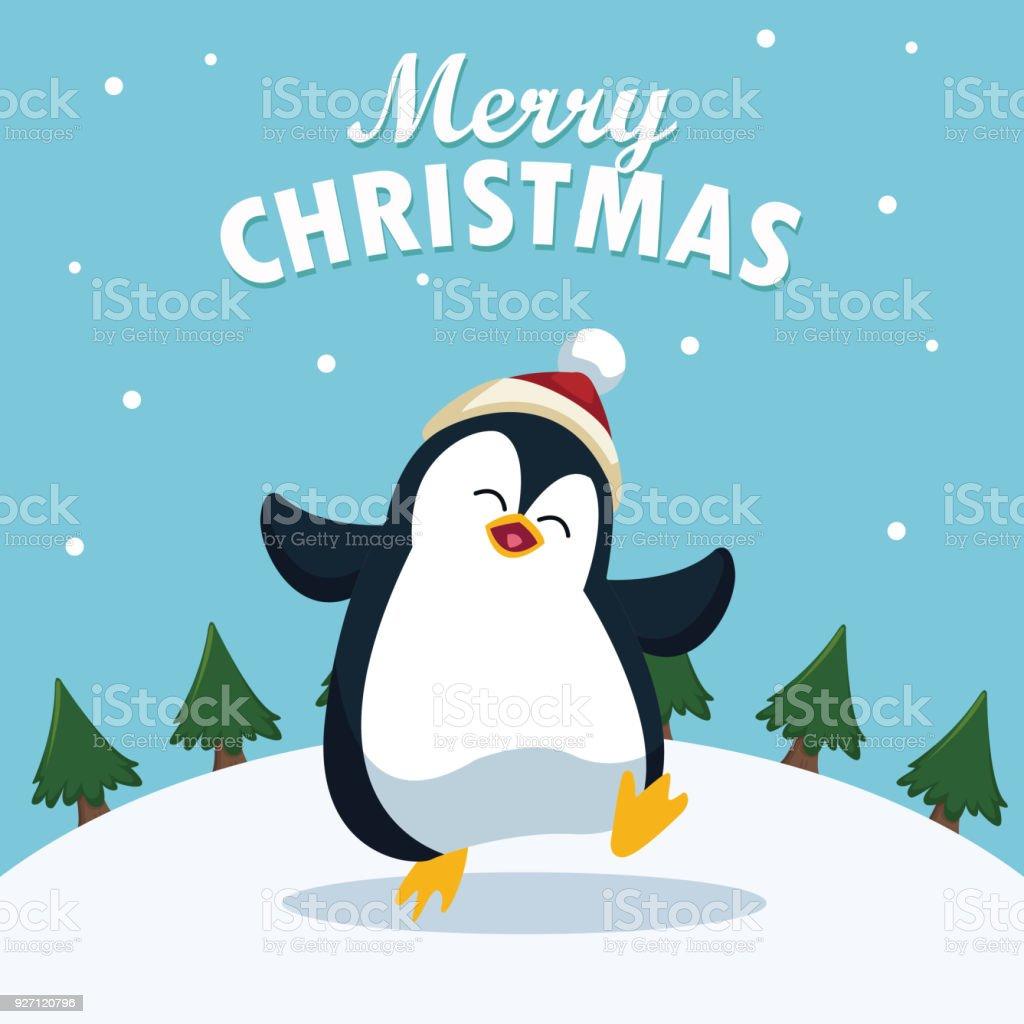 Comic Frohe Weihnachten.Frohe Weihnachten Cartoon Stock Vektor Art Und Mehr Bilder Von