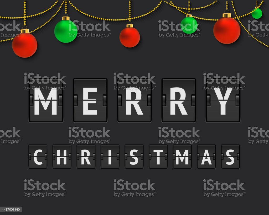 merry christmas countdown royalty free merry christmas countdown stock vector art more images - Countdown To Christmas 2015