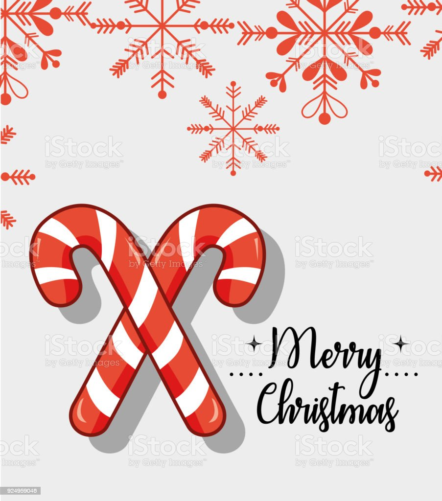 merry christmas decoration design vector art illustration