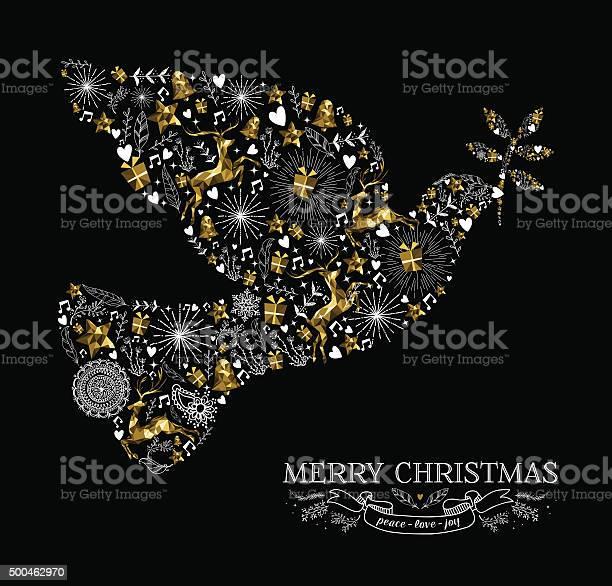 Merry christmas dove bird silhouette gold reindeer vector id500462970?b=1&k=6&m=500462970&s=612x612&h=fvlvcoy37xcispighz3jwxytkyxch dxh9uvqdcducu=