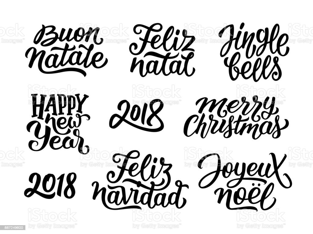 Feliz Navidad Hand Lettering Christmas New Stock Vector Auto 1996 Nissan Quest Egr Wiring Diagram Royalty Free Clip Art Images