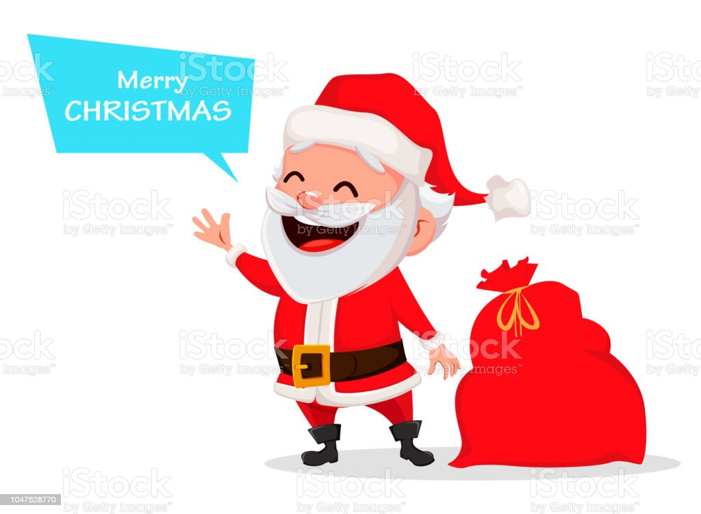 merry christmas funny santa claus royalty free merry christmas funny santa claus stock - Funny Merry Christmas