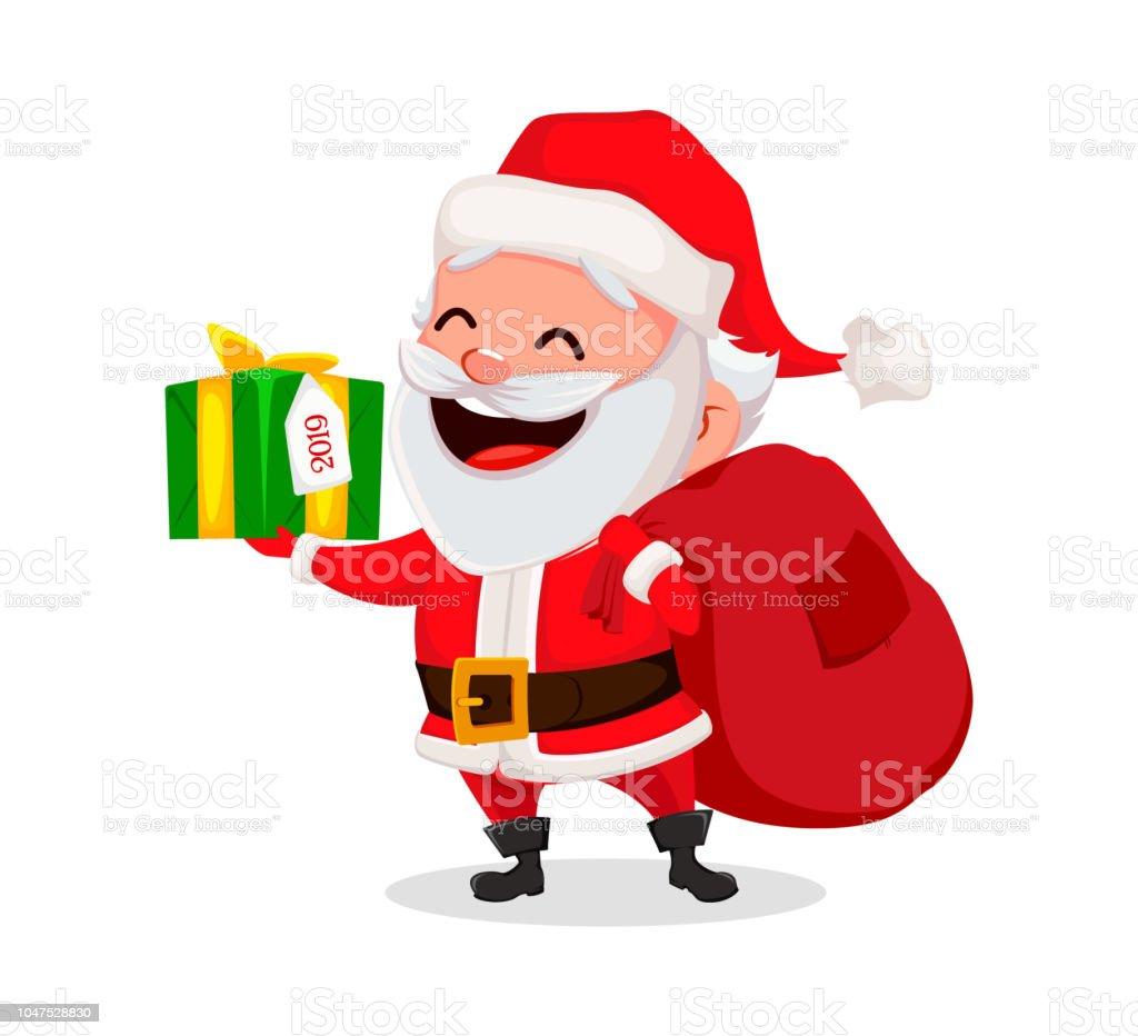 merry christmas funny santa claus royalty free merry christmas funny santa claus stock - Christmas Funny Pics