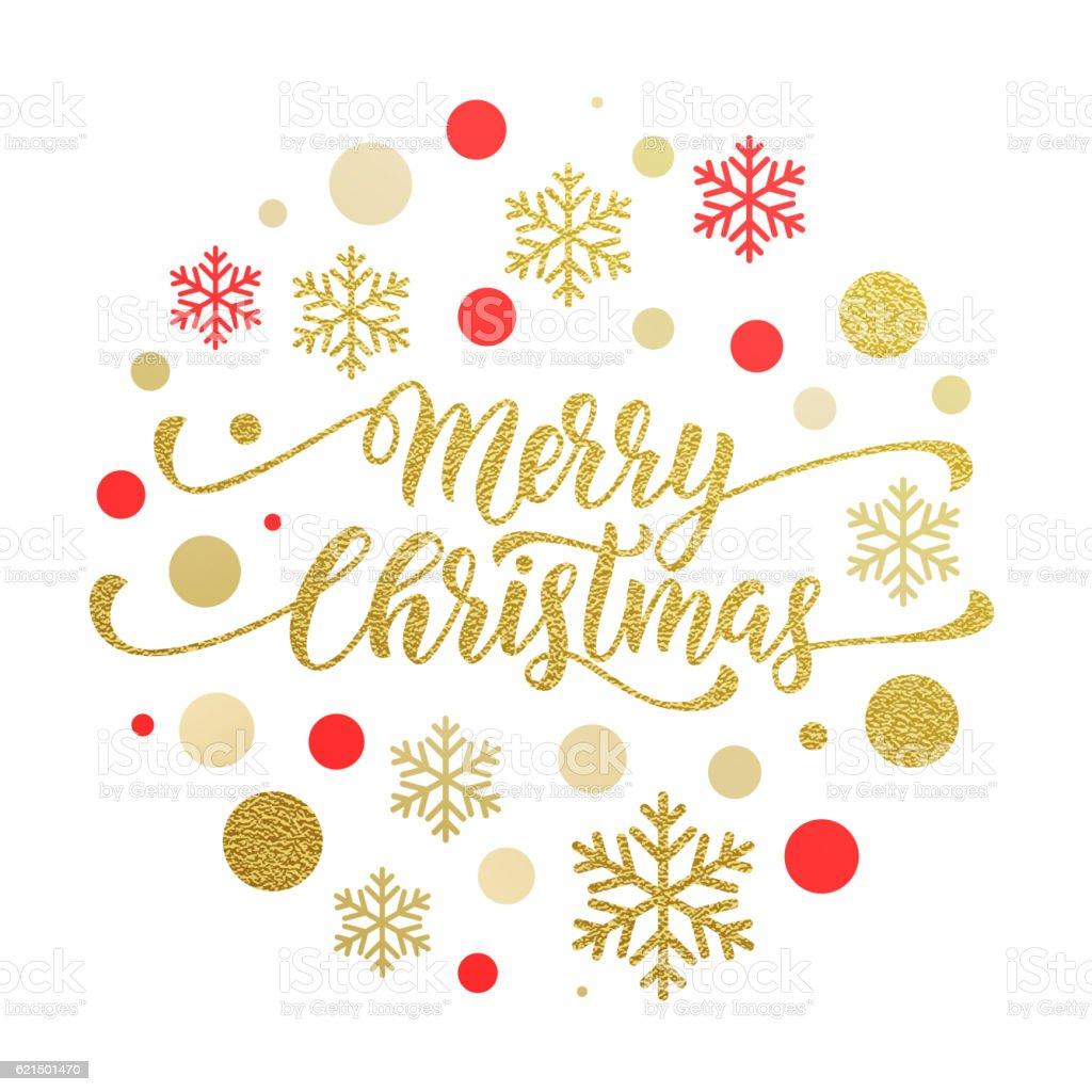 Merry Christmas gold greeting card, poster glitter Lizenzfreies merry christmas gold greeting card poster glitter stock vektor art und mehr bilder von dekoration