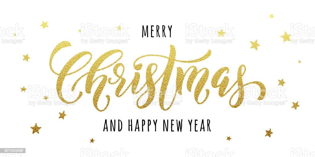 Merry Christmas gold greeting card, poster glitter merry christmas gold greeting card poster glitter - immagini vettoriali stock e altre immagini di a forma di stella royalty-free