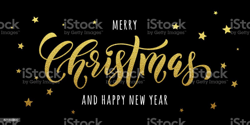 Merry Christmas gold greeting card, poster glitter merry christmas gold greeting card poster glitter – cliparts vectoriels et plus d'images de affiche libre de droits