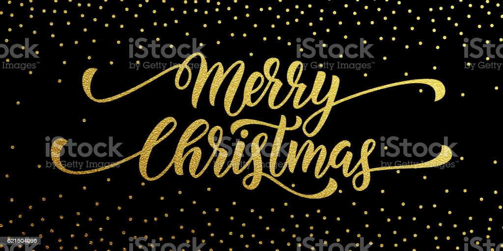 Merry Christmas gold greeting card, poster glitter merry christmas gold greeting card poster glitter - immagini vettoriali stock e altre immagini di a forma di stella royalty-free