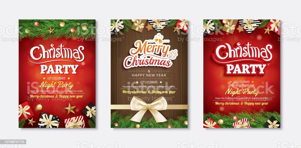 Ilustración De Feliz Navidad Tarjeta De Felicitación E