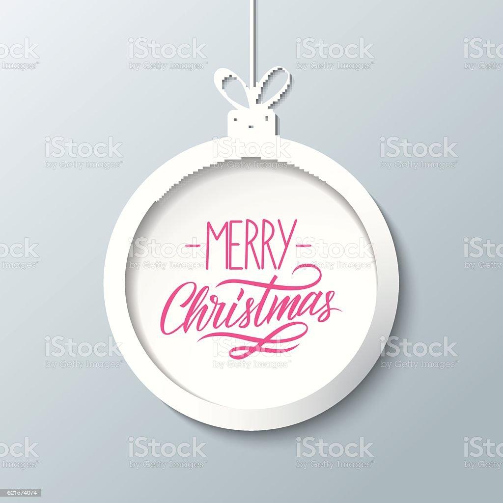 Merry Christmas greeting card with handwritten text design. merry christmas greeting card with handwritten text design – cliparts vectoriels et plus d'images de arts culture et spectacles libre de droits