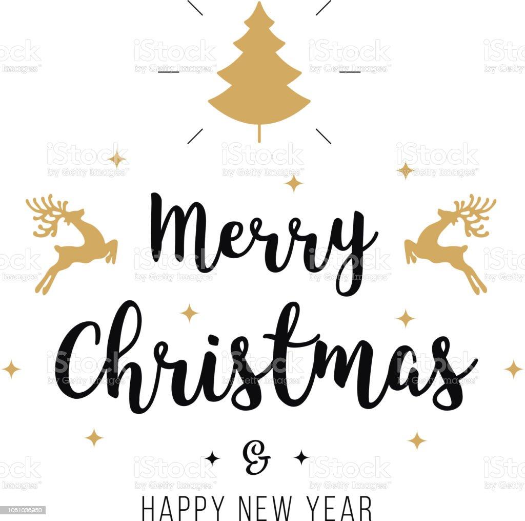 Text Frohe Weihnachten.Frohe Weihnachten Gruss Text Ornamente Gold Weisser