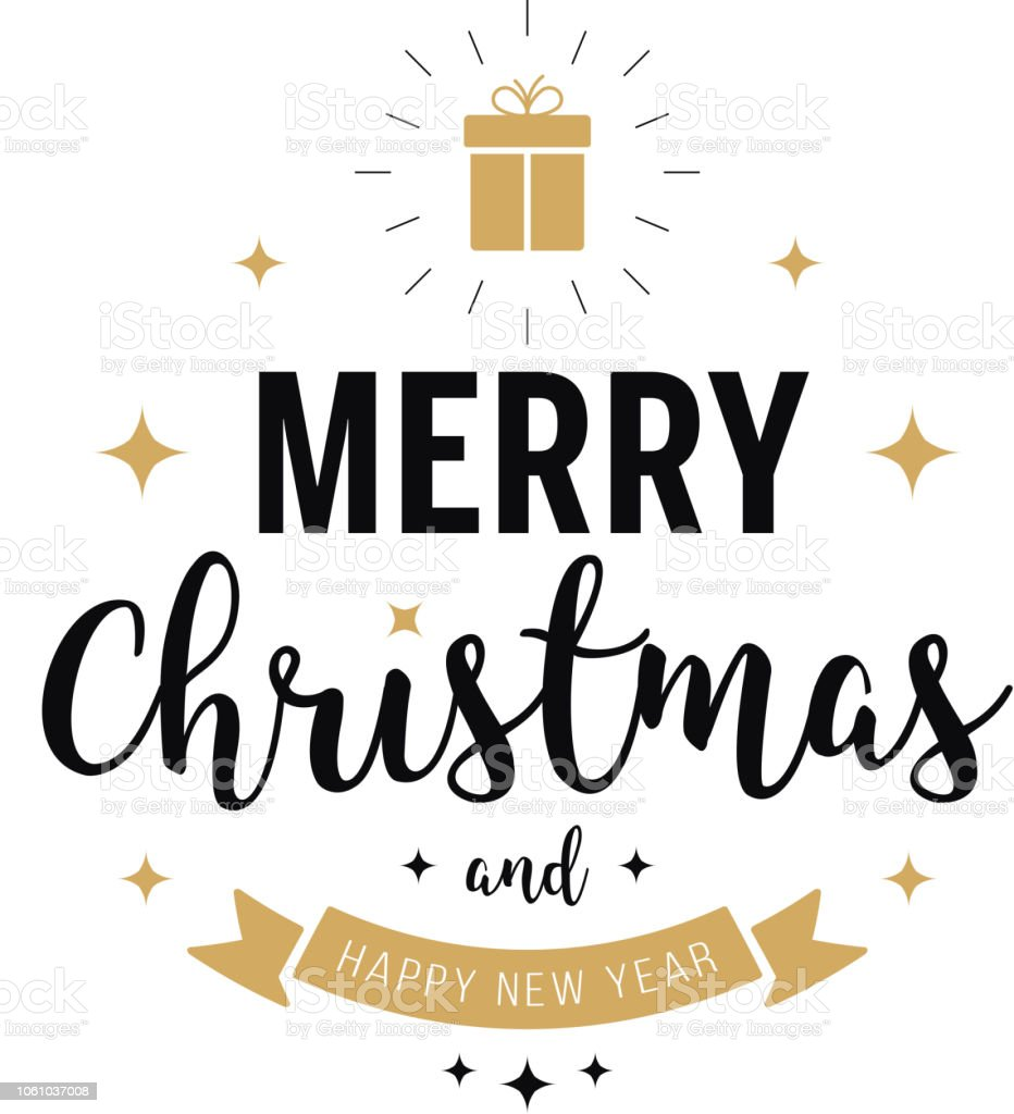 Frohe Weihnachten Gold.Frohe Weihnachten Gruß Text Sterne Gold Weißem Hintergrund Stock