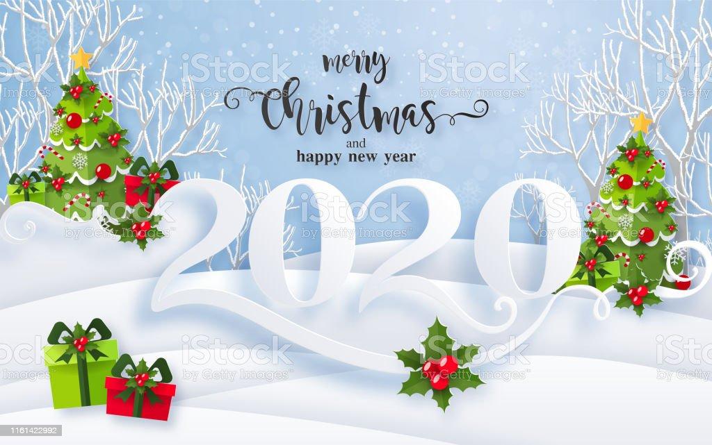 Vetores De Os Cumprimentos Do Feliz Natal E O Ano Novo Feliz