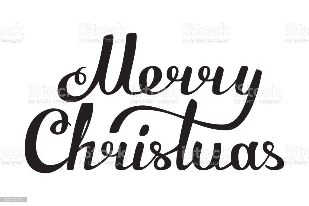 Joyeux Noël Artisanal Lettrage Noir Et Blanc Vecteurs Libres De Droits Et Plus Dimages Vectorielles De Affiche