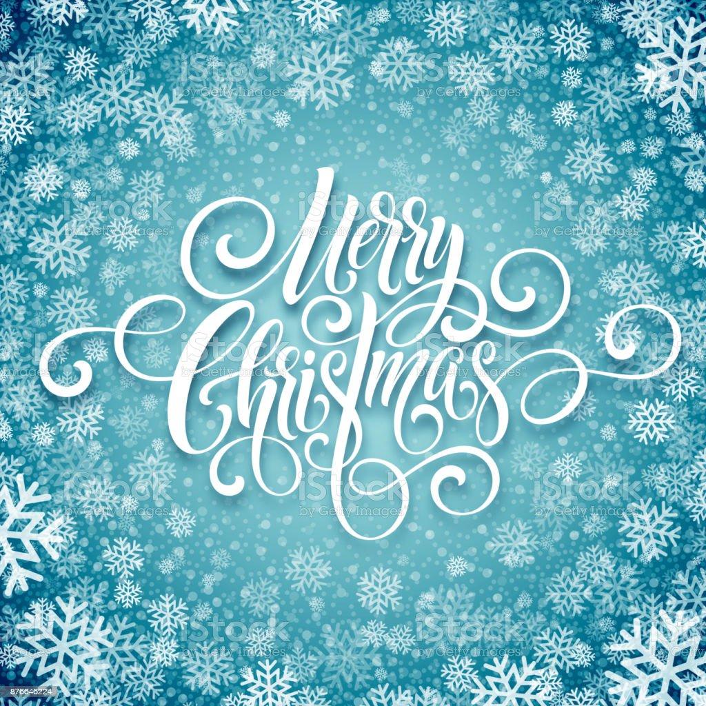 Frohe Weihnachten Handschrift Skript Schriftzug Weihnachten Gruß ...