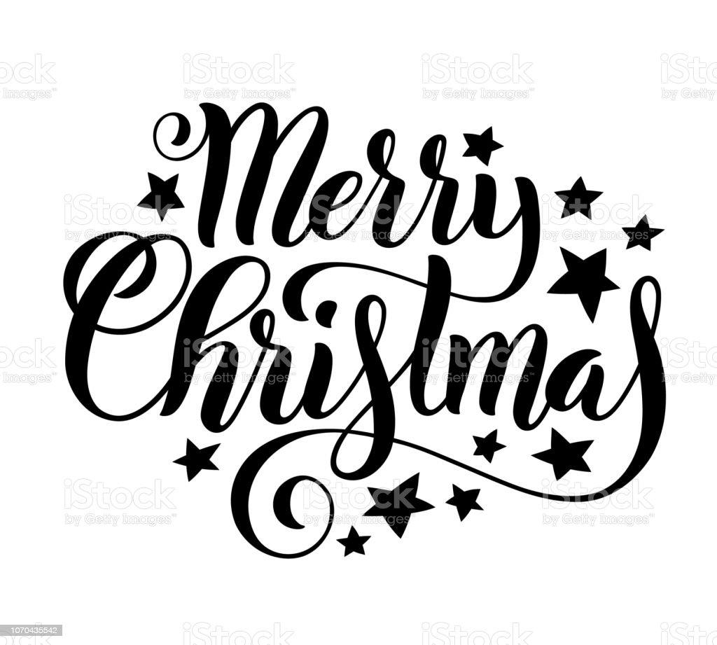 Frohe Weihnachten Schrift.Frohe Weihnachten Handschriftlich Schriftzug