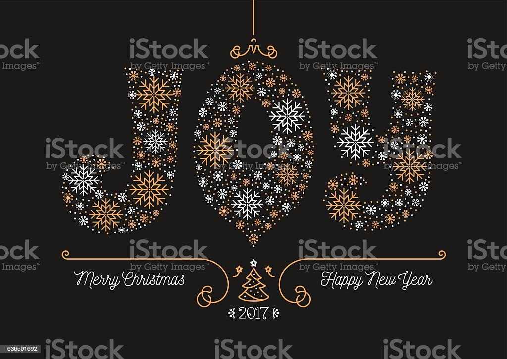 Merry Christmas Happy New Year 2017 Greeting Card Business Postcard ...
