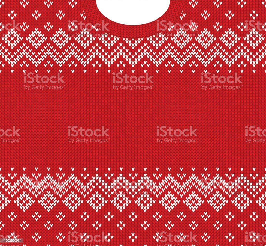 Merry Christmas Happy New Year greeting card frame scandinavian ornaments