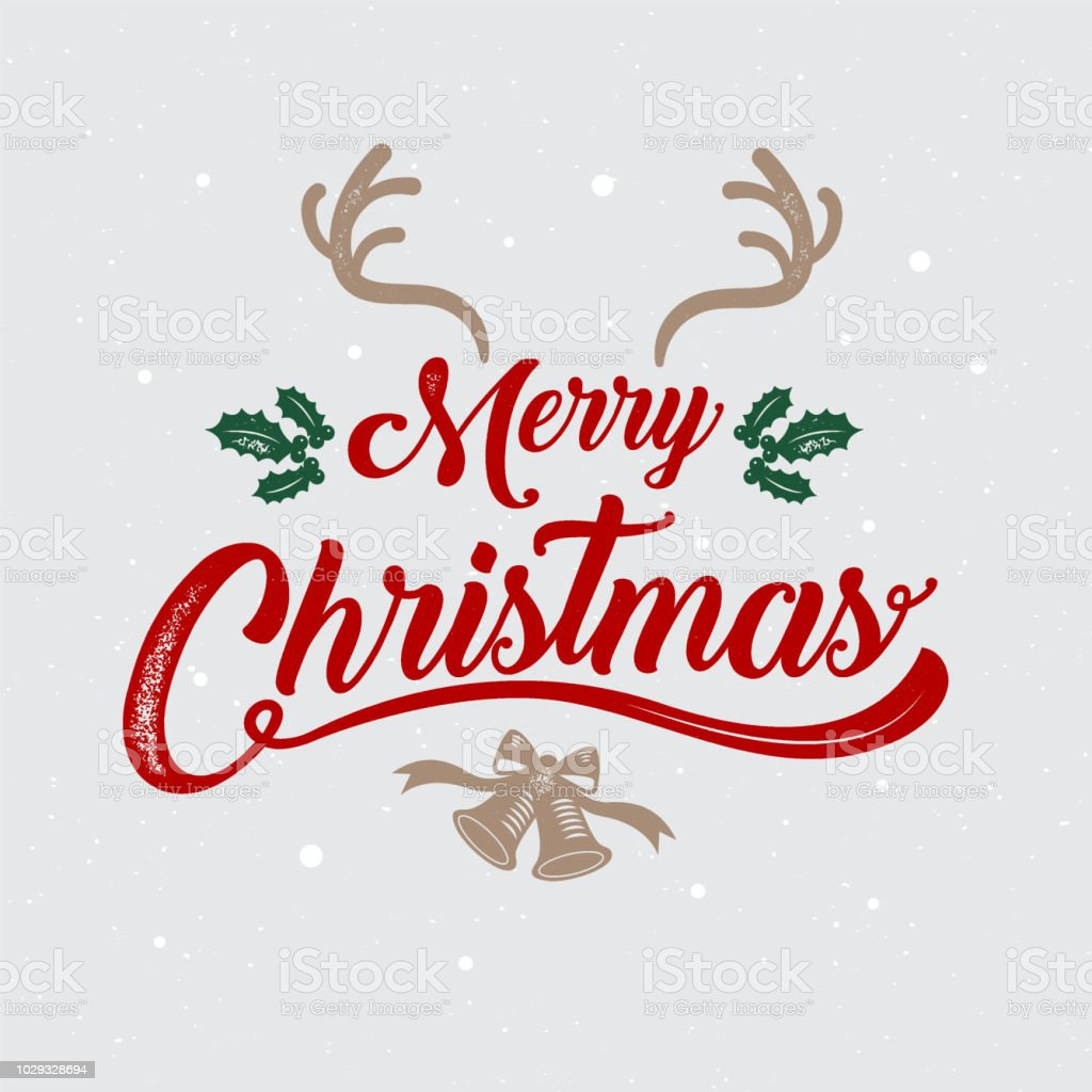 Merry Christmas Happy New Year Logo Symbol Design Vector Illustration Stock Illustration ...