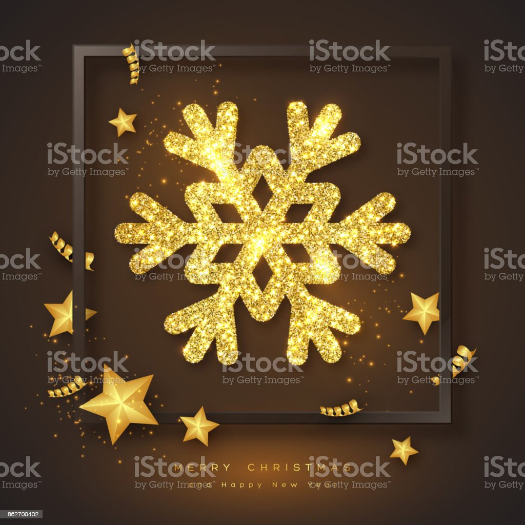 Merry Christmas holiday background. vector art illustration