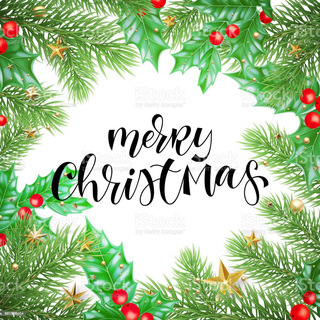 merry christmas holiday greeting card background template