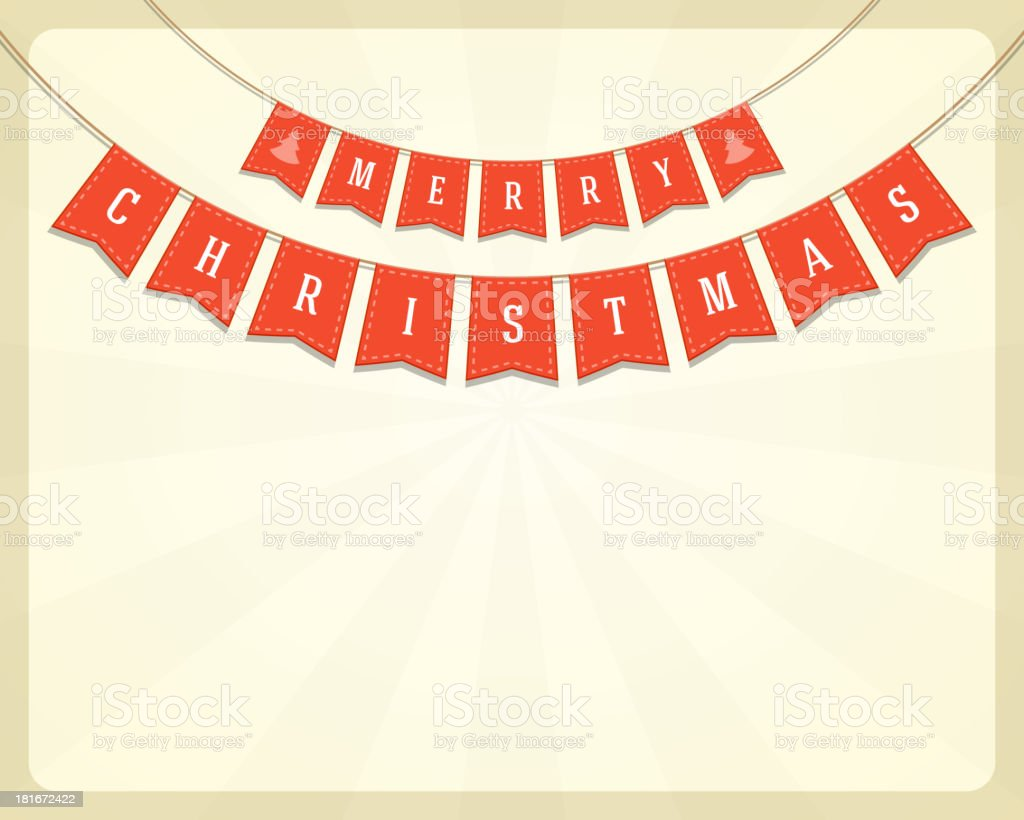 Merry Christmas message and banner decoration background. royalty-free merry christmas message and banner decoration background stock vector art & more images of backgrounds
