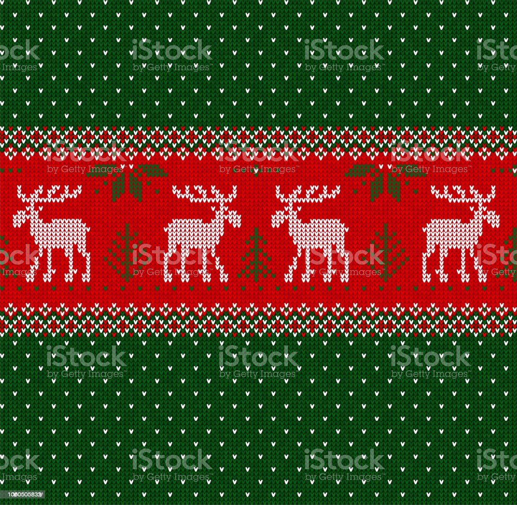 merry christmas new year seamless pattern border frame scandinavian deers royalty free merry christmas new