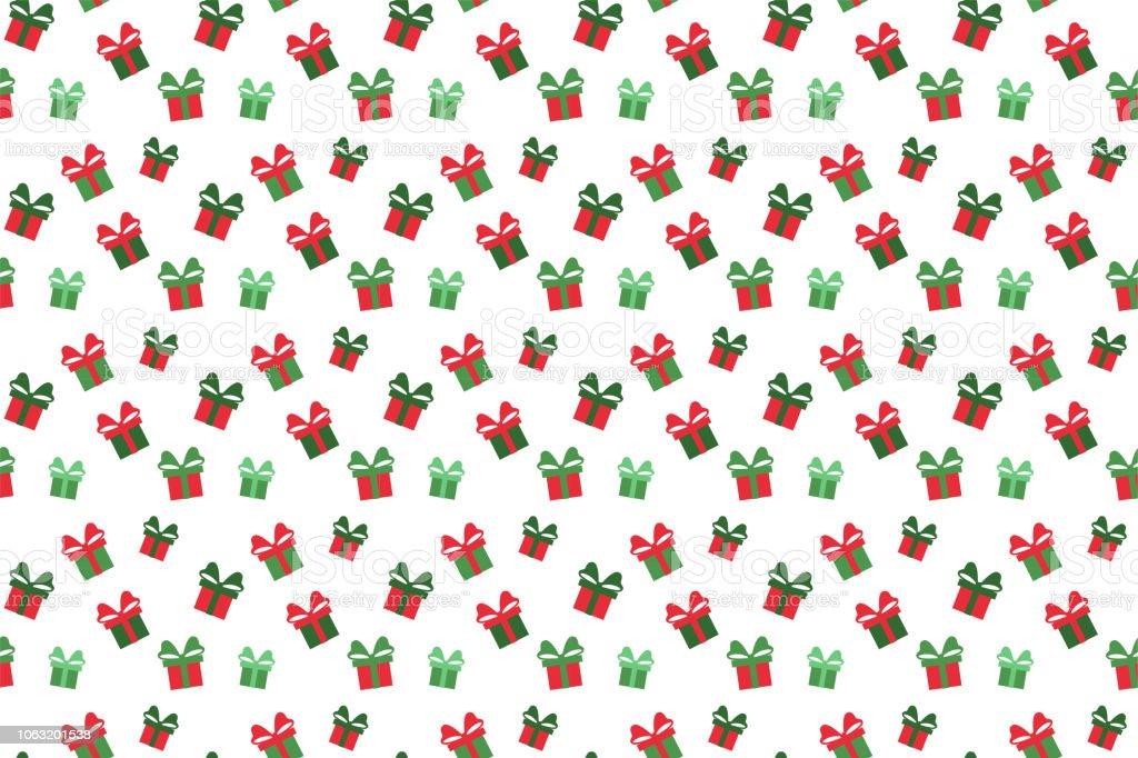 Ilustración de Feliz Navidad El Patrón Sin Costuras Fondo De Regalo ...