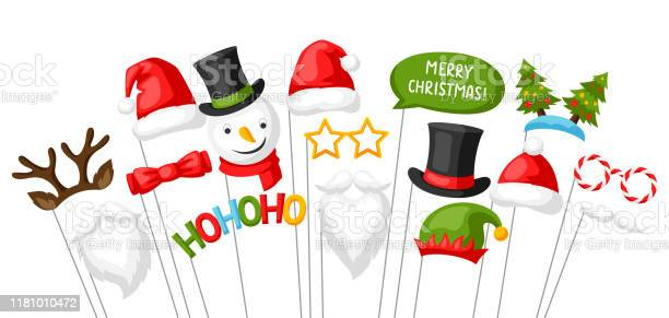 Merry christmas photo booth props vector id1181010472?b=1&k=6&m=1181010472&s=612x612&h=11fy2uqqy2z119ibv7wdru5yf38fekp8pxp9cfhnqmc=
