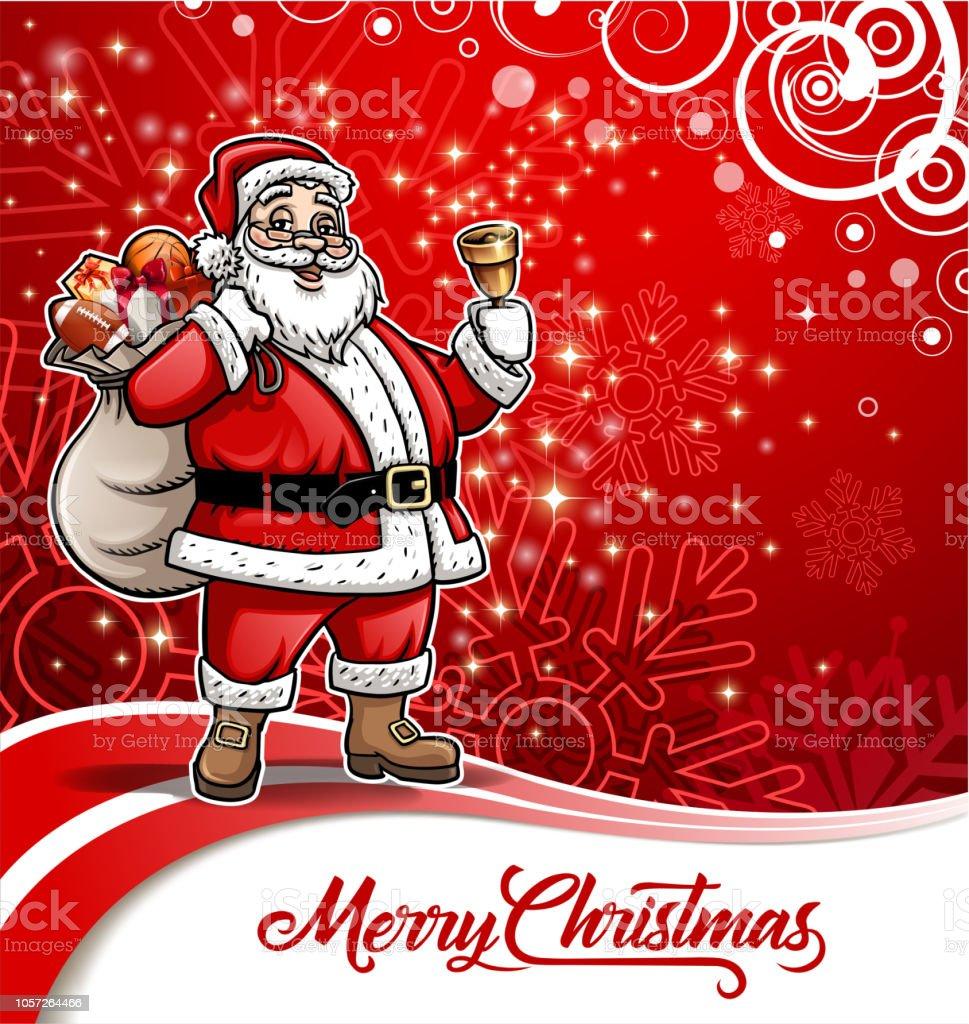Joyeux Carte Postale De Noel Cliparts Vectoriels Et Plus D Images