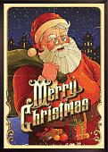 Christmas Greetings Poster  eps8