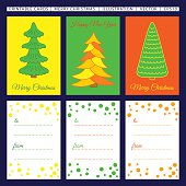 Merry Christmas. Printable cards.