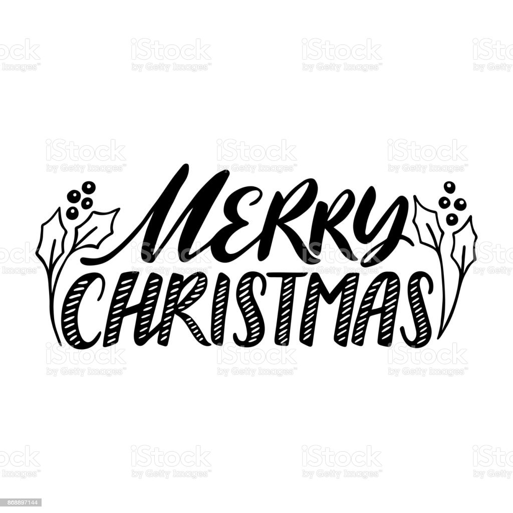 Merry christmas quote vector text for design greeting cards photo merry christmas quote vector text for design greeting cards photo overlays prints kristyandbryce Images