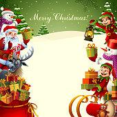 Merry Christmas! Santa's Helpers