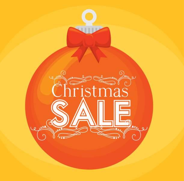 Compras de Navidad feliz - ilustración de arte vectorial