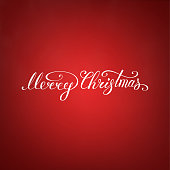 istock Merry Christmas Text .Happy New Year vector illustration lettering design EPS 10. Christmas card 1280301126