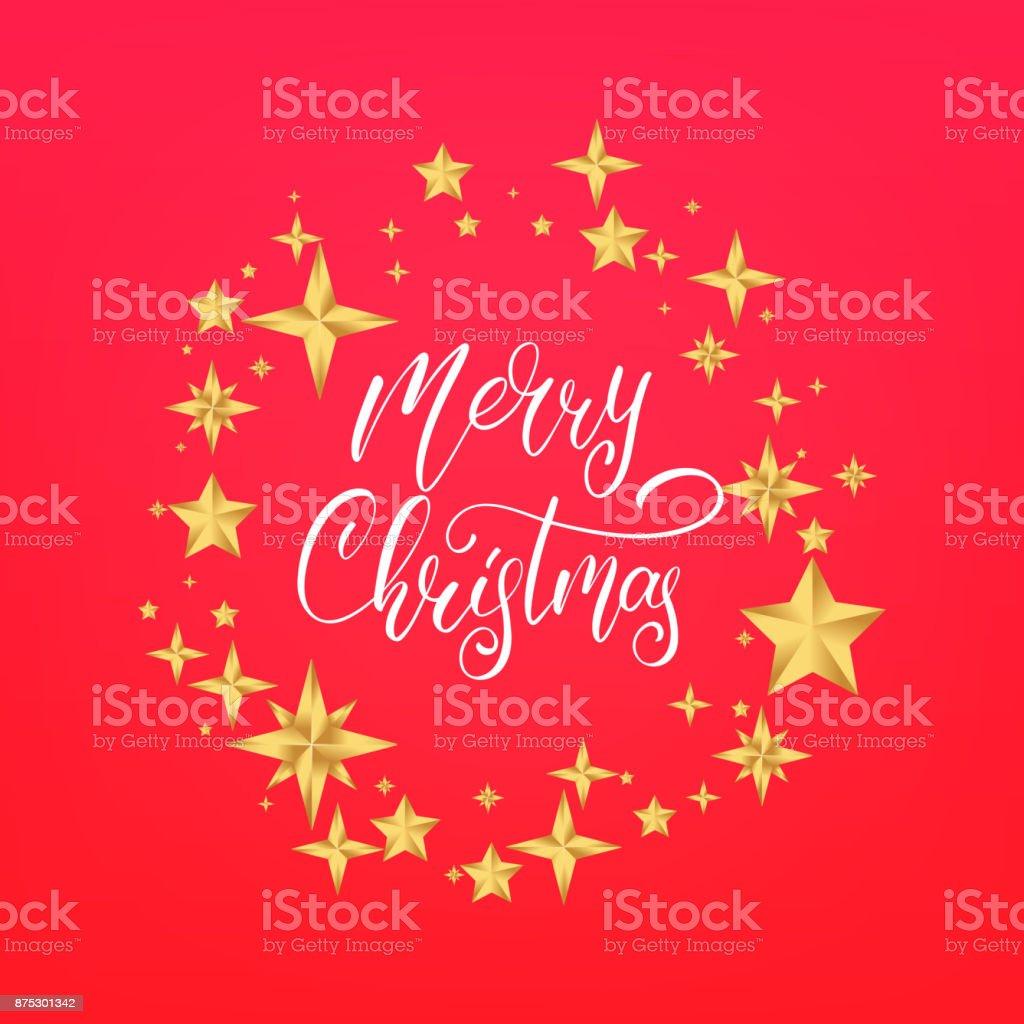 Frohe Weihnachten Text.Frohe Weihnachten Text Design Schriftzug Winterurlaubkarte