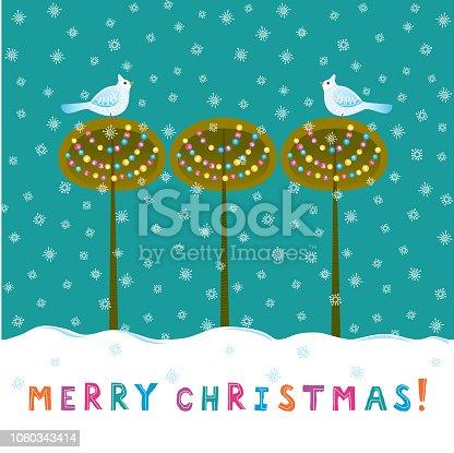 istock Merry Christmas! 1060343414