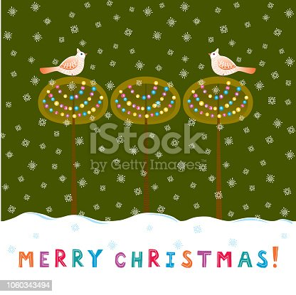 istock Merry Christmas! 1060343494