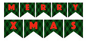 Plaid Christmas Signs