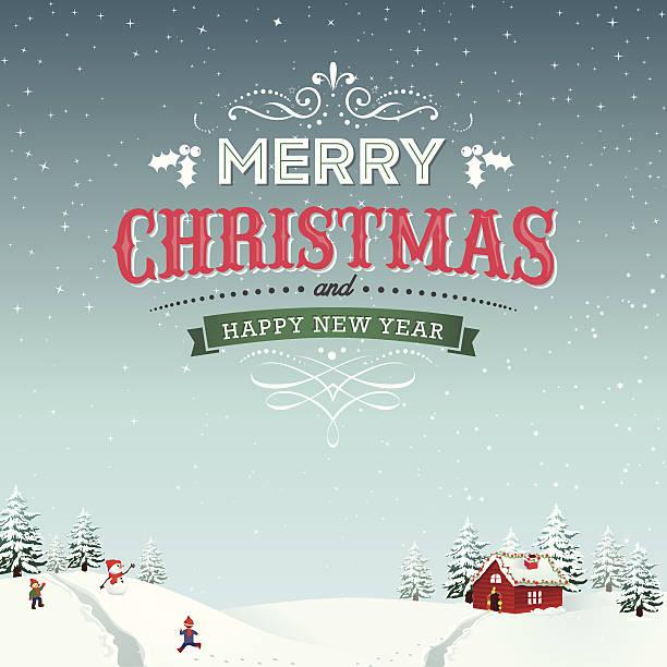 Frohe Weihnachten – Vektorgrafik