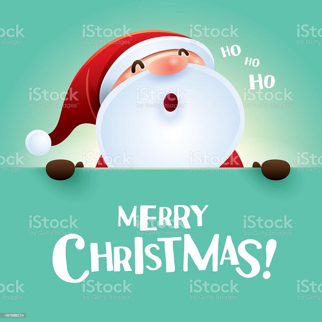 Ho Ho Ho Merry Christmas.Ho Ho Ho Merry Christmas Stock Illustration Download Image