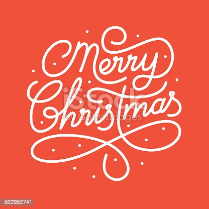istock Merry Christmas 522952741