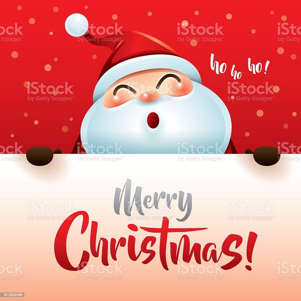 Ho Ho Ho Merry Christmas Stock Vector Art & More Images of Christmas ...
