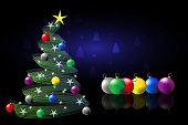 Christmas tree , Merry Christmas!